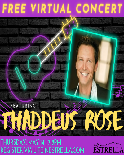 Virtual Concert - Thaddeus Rose May 2021 show